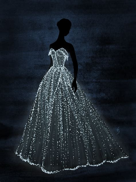 fashion illustration on black paper lydia snowden illustration danes zac posen
