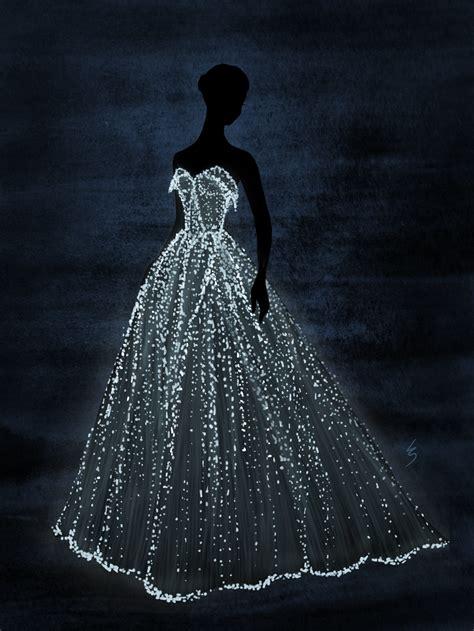 fashion illustration on black paper lydia snowden illustration danes zac posen