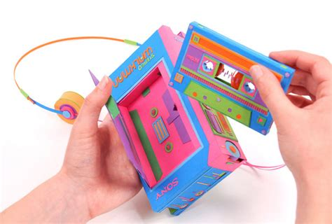 How To Make Paper Gadgets - papercraft retro gadgets the awesomer