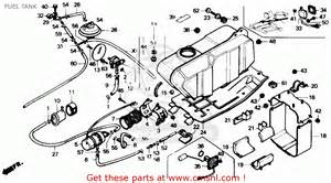 Honda Fourtrax Parts Honda Trx350 Fourtrax 4x4 1986 Usa Fuel Tank Schematic