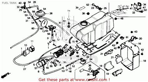 1986 honda fourtrax 350 parts honda 300 fourtrax engine diagram car interior design