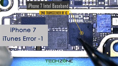 iphone 7 itunes error 1 analyse and solution