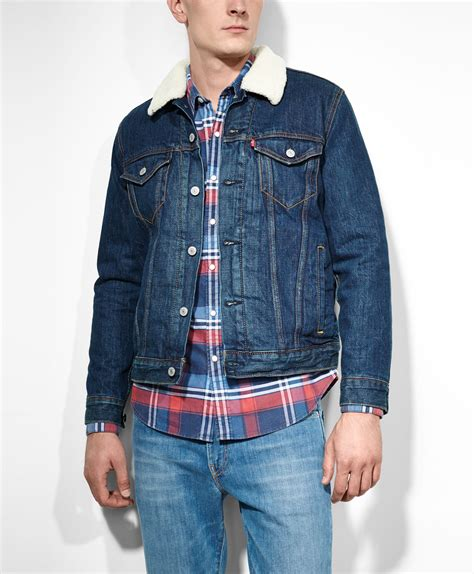 kaos levisbaju levist shirt levis collection levi s sherpa trucker jacket foley the trucker