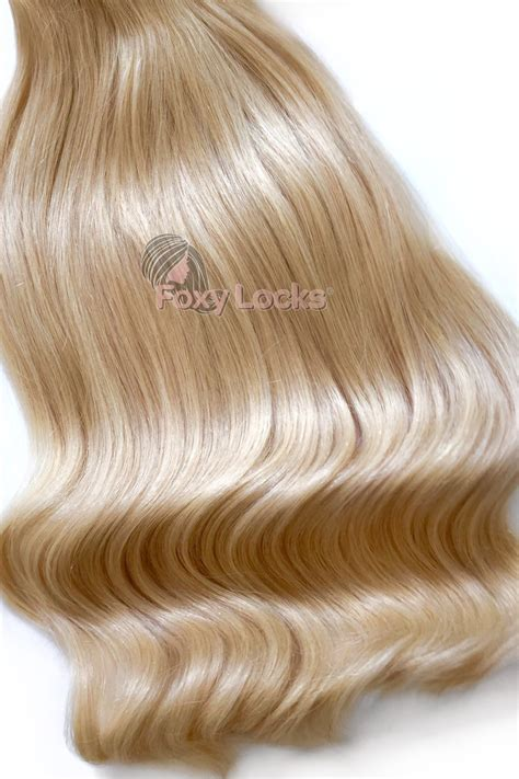 foxy clip in hair extensions deluxe 20 quot clip in human hair