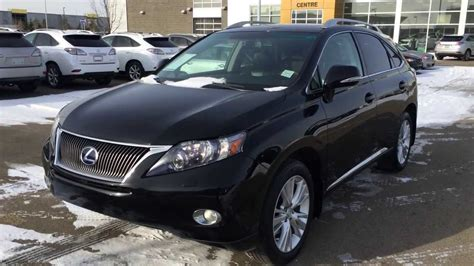 black lexus 2010 pre owned black 2010 lexus rx 450h awd hybrid touring