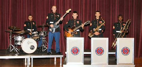 Jazz Band Rhythm Section by 1st Marine Division Gt Units Gt 1st Div Band Gt Ensembles