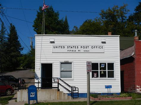 Wi Post Office by Fifield Wisconsin Post Office Post Office Freak