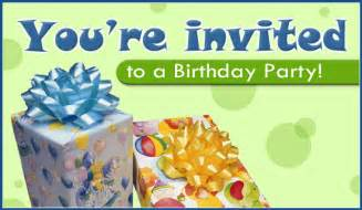 free birthday ecard email free personalized invitations cards