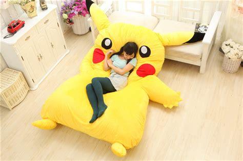 pikachu bed set japan anime pikachu stuffed large japanese