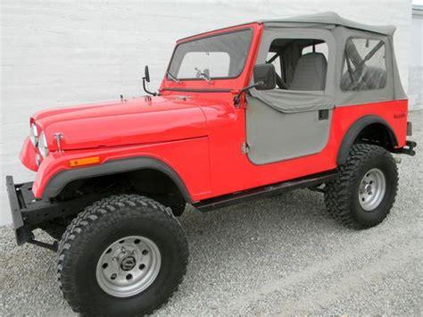 Jeep Cj7 Soft Top Find Used Jeep Cj 7 4x4 Four Wheel Drive Soft Top Cj7