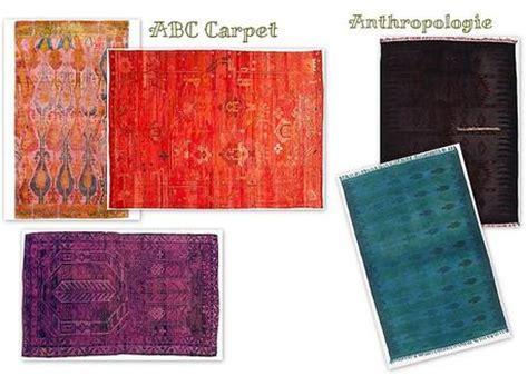 overdyed rugs diy dye diy paperblog