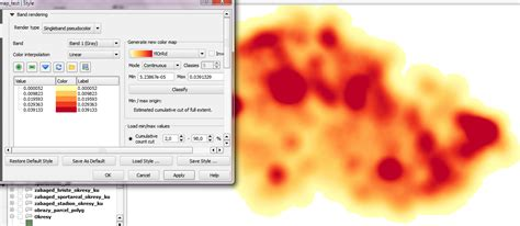 qgis tutorial heat map heat map qgis heatmap plugin how to convert resulting