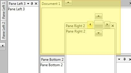 dock layout manager wpf telerik wpf docking dock window manager control for wpf