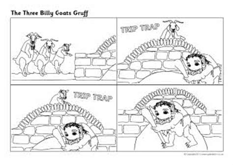 3 Billy Goats Gruff Sequencing Worksheet by Three Billy Goats Gruff Sequencing Sheets Sb6312