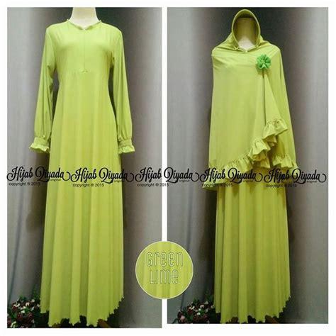 Gamis Modern Eldora Syar I Maxi Dress High Quality gamis oki warna lemon bikin tambah fresh sista solihah gamisoki