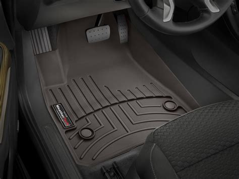 weathertech floor mats floorliner for gmc acadia w bench