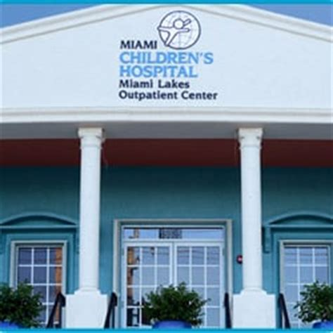 Miami Outpatient Detox Miami Fl by Nicklaus Children S Miami Lakes Outpatient Center Yelp