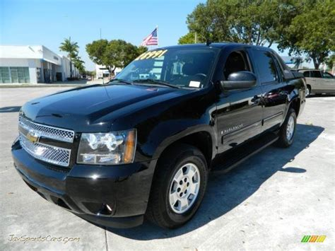 how cars run 2011 chevrolet avalanche electronic valve timing 2009 chevrolet avalanche lt 4x4 in black 238126 jax sports cars cars for sale in florida