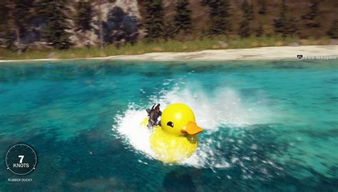 fast boat in just cause 3 just cause 3 how to get the rubber ducky boat all video game