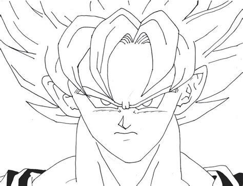 Goku Super Saiyan 3 Coloring Coloring Pages Goku Saiyan 3 Coloring Pages