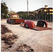 Rat Rod Truck And Trailer  Geauxing Low Pinterest