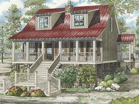 unique country house plans low country house plan with 1451 square feet and 3