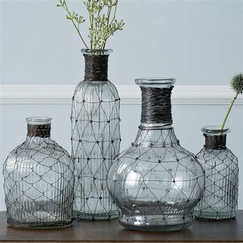 Wire Vases by Wire Bottle Bud Vase Style Vases By West Elm