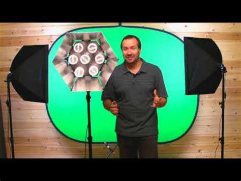 budget green screen lighting chromakey green screen studio lighting tutorial youtube