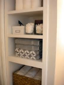 Bathroom Closet Shelving Ideas » Home Design