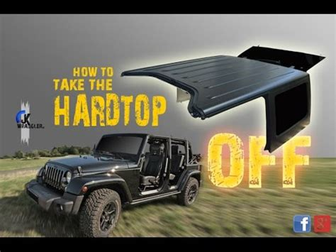 jeep hardtop removal jeep wrangler jk how to remove the hardtop mopar youtube