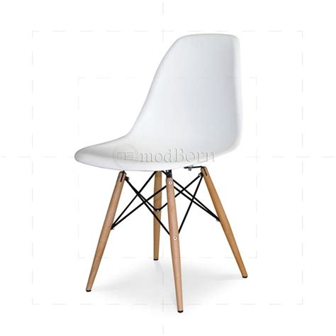 White Chair by Eames Style Dining Dsw Chair White