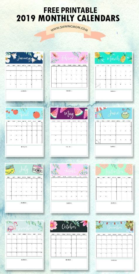 calendar  printable   monthly calendars  love calendar  printable