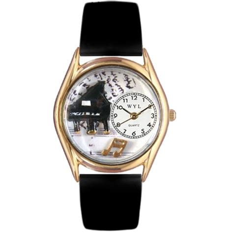 whimsical watches c0510001 classic gold piano