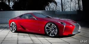 Lexus Vs Lexus Lc500 Vs Lexus Lf Lc Concept Styling Faceoff