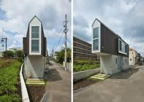 The Small Home Japanese Tiny Triangular Japanese House Narrowly Fits Its Plot