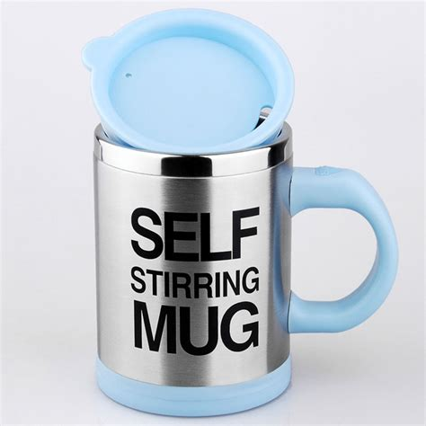 Automatic Self Stirring Mug Steering Coffee Cup Gelas A Terjamin automatic coffee mixing cup stainless compareimports