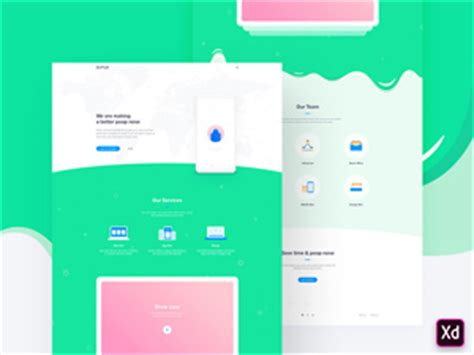 Adobe Xd Template Search Results Freebie Supply Adobe Xd Templates