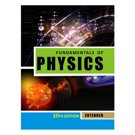 fundamentals  physics extended   halliday resnick