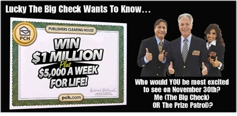 Pch Check - lucky the pch big check is back with another quot mega quot question pch blog