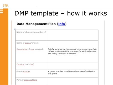 Data Management Plan Template Templates Station Data Management Plan Template