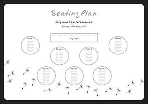table plans templates for weddings woodideas