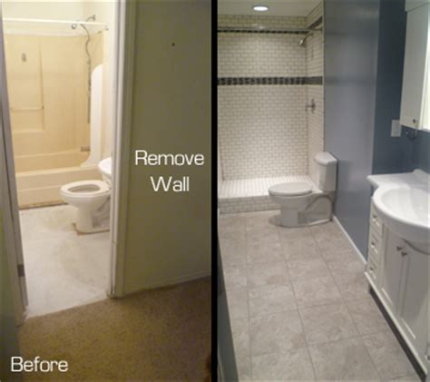 bathroom expansion inspired remodeling tile bloomington indiana