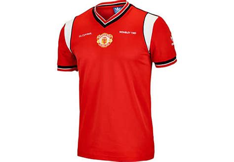 Jersey Retro Real Madrid Home 1985 adidas manchester united retro home jersey 1985