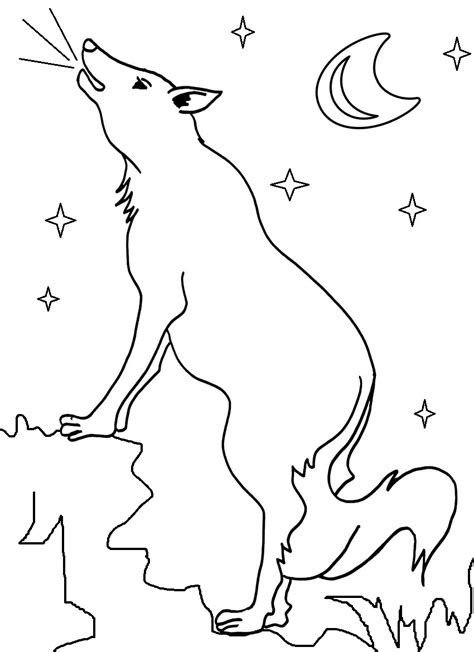 Free Coloring Pages Of Baby Wile E Coyote Coyote Coloring Page