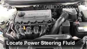 Kia Power Steering Fluid Power Steering Leak Fix 2010 2013 Kia Forte