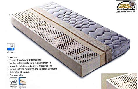 costo materasso singolo amazing materasso singolo in lattice naturale with