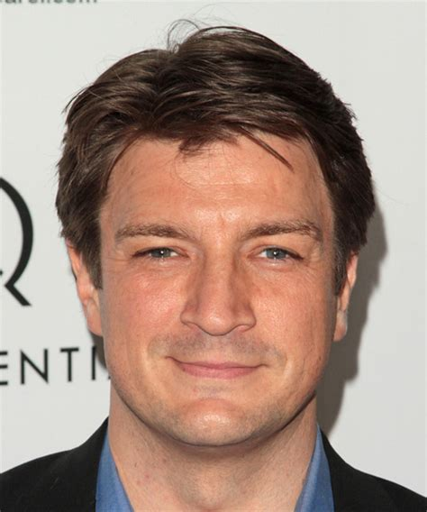 Nathan Hairstyle by Nathan Fillion Hairstyles In 2018
