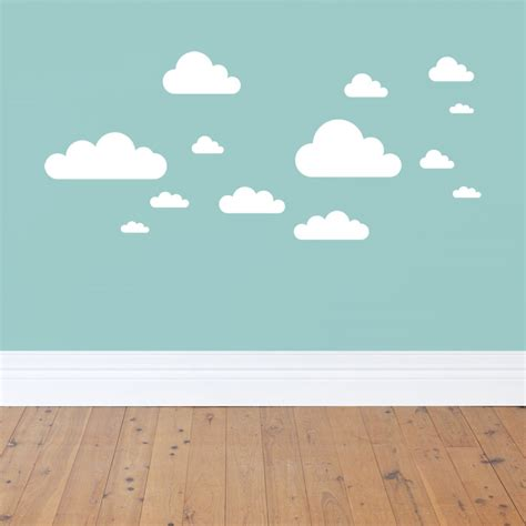 wall stickers clouds clouds wall decals