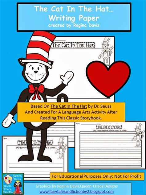 cat in the hat writing paper 278 best images about dr seuss on