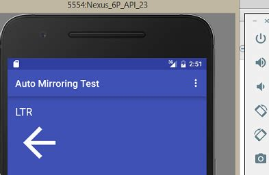 layout mirroring android auto mirroring for rtl layout doesn t work in android
